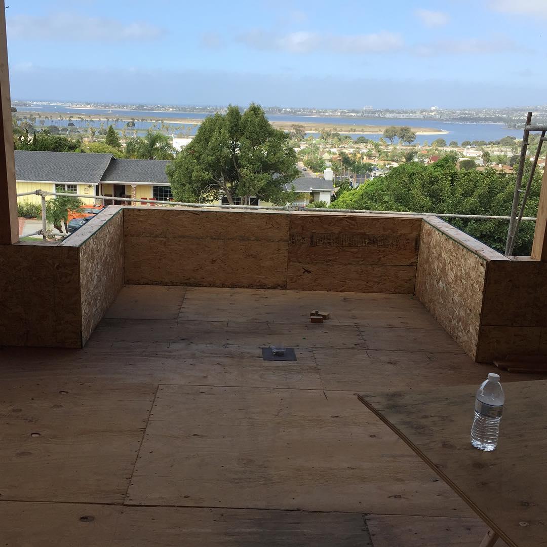 newconstruction sandiego baypark plumbing view ocean deckdrains deck spahrplumbing Continuehellip
